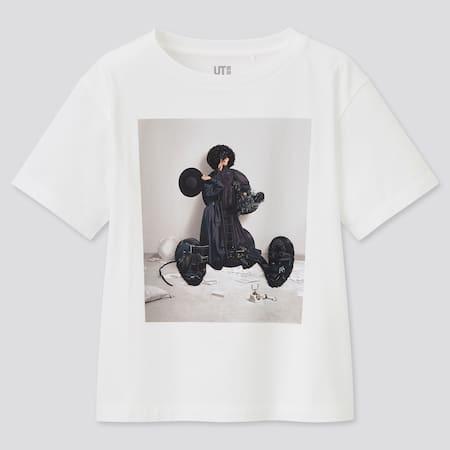 Kinder Disney Art by Yuni Yoshida UT Bedrucktes T-Shirt