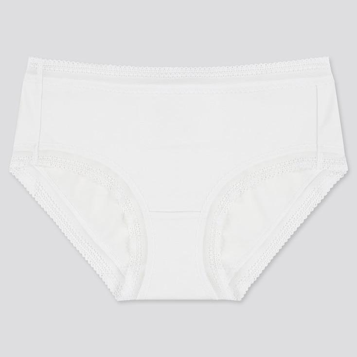 Women Hiphuggers, White, Large