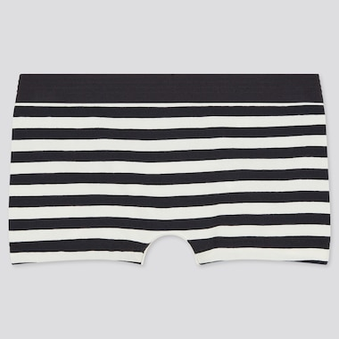 Women Striped Boy Shorts