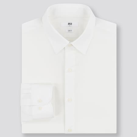 Men Easy Care Slim Fit Shirt (Regular Collar)