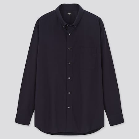 Men Extra Fine Cotton Broadcloth Regular Fit Shirt