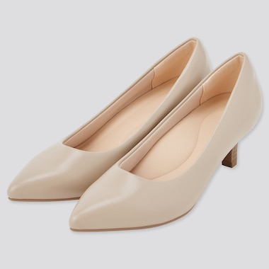 Women Comfeel Touch Heeled Shoes (Smooth)
