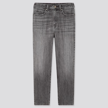 Damen Slouch Tapered Jeans in 7/8-Länge