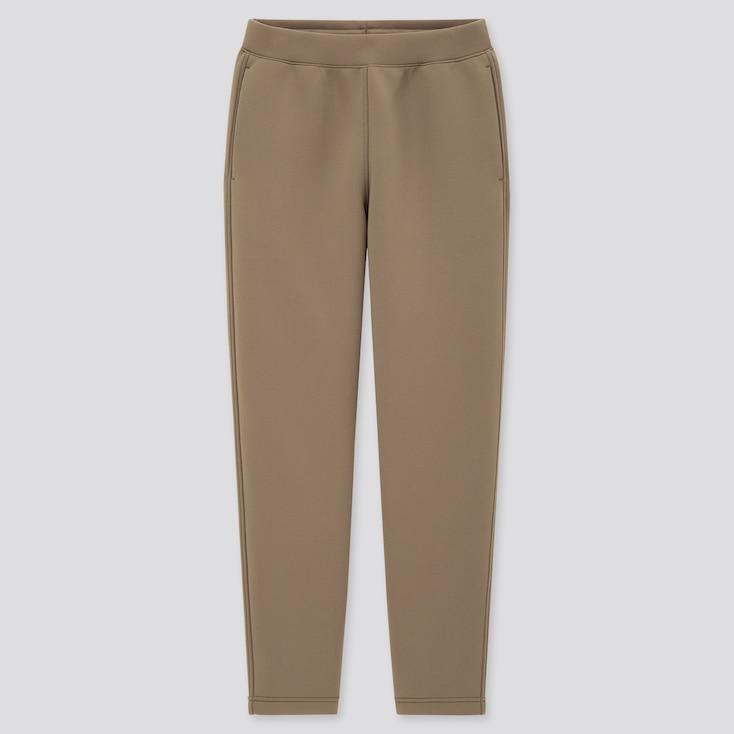 Women Ultra Stretch Dry Sweatpants, Olive, Large