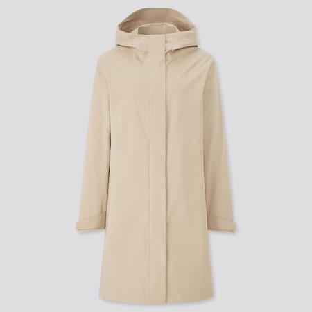 Women BLOCKTECH Hooded Coat