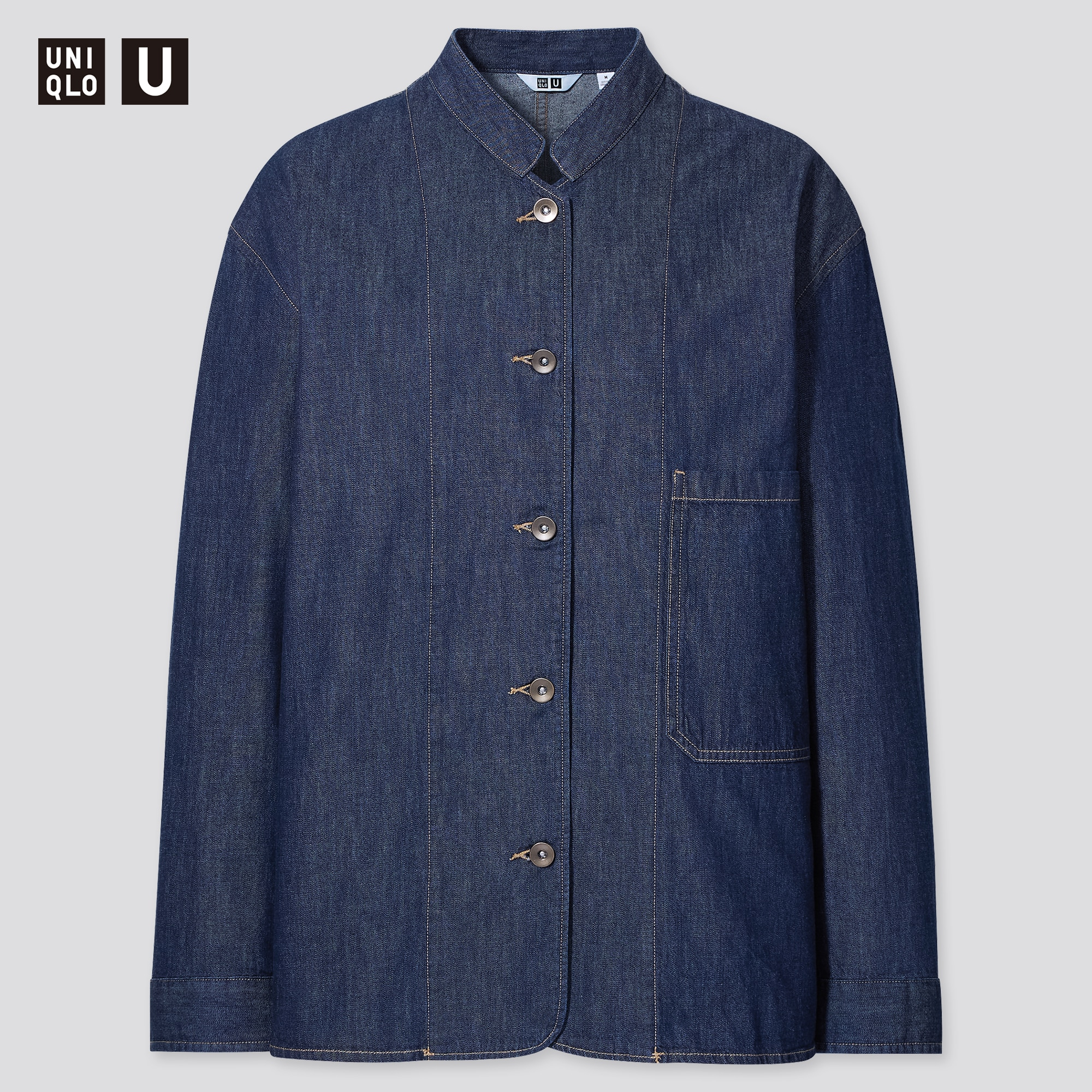 WOMEN U LIGHTWEIGHT DENIM COVERALL