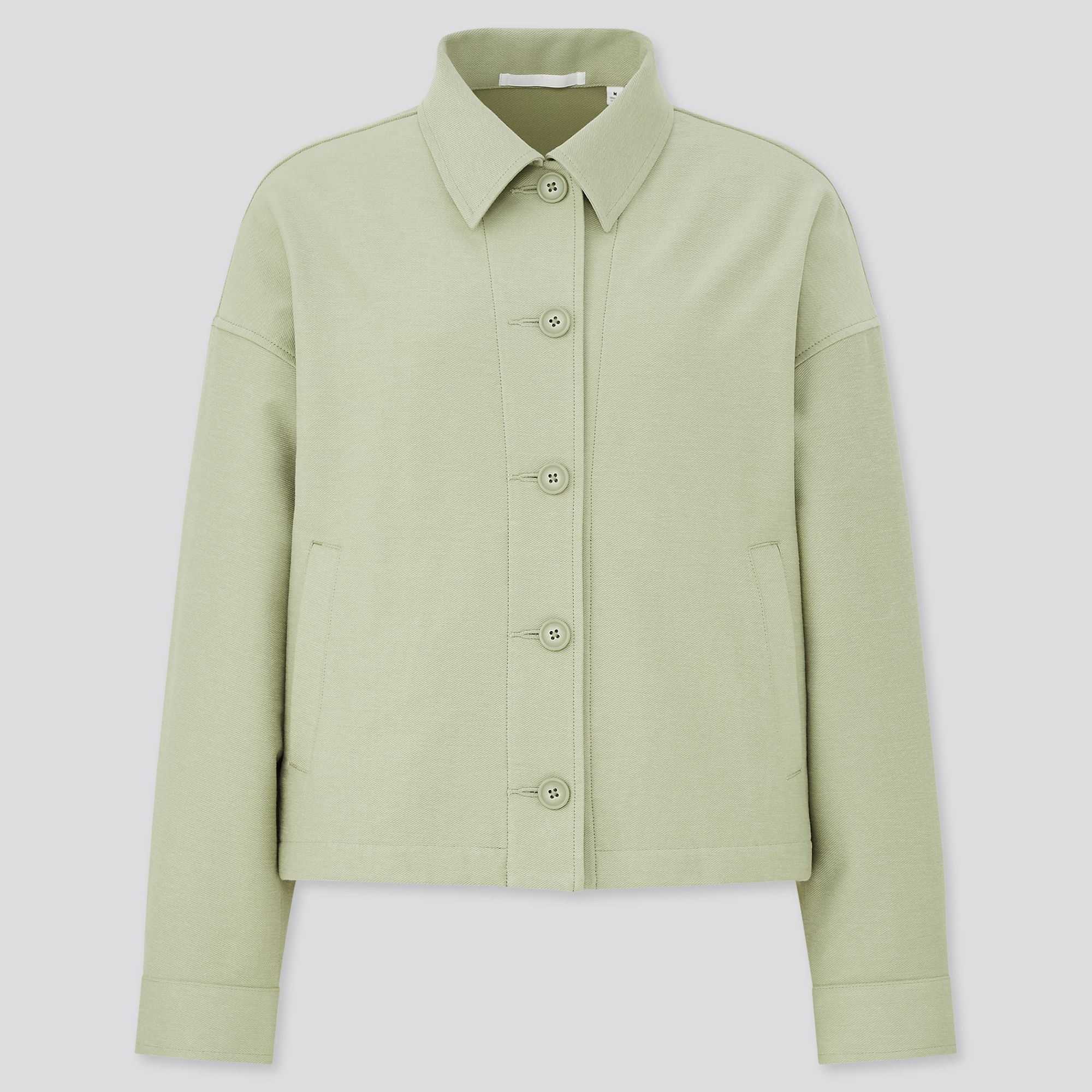 WOMEN JERSEY RELAXED JACKET
