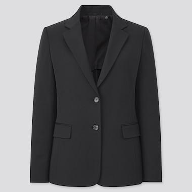 Women Two-Way Stretch Blazer Jacket