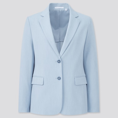 Women Two-Way Stretch Blazer Jacket