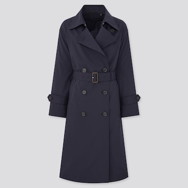 Women Oversized Fit Trench Coat