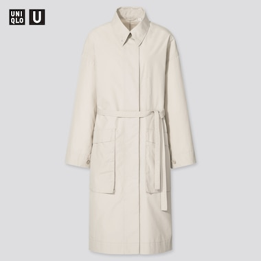 Women Uniqlo U Cotton Long Coat