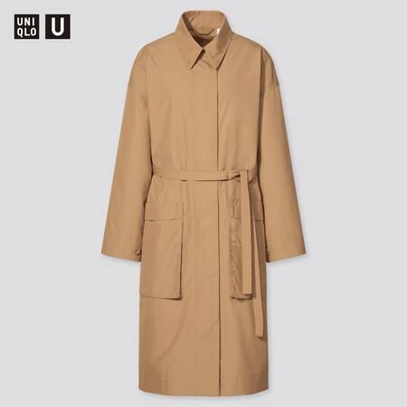 Women Uniqlo U Cotton Long Coat