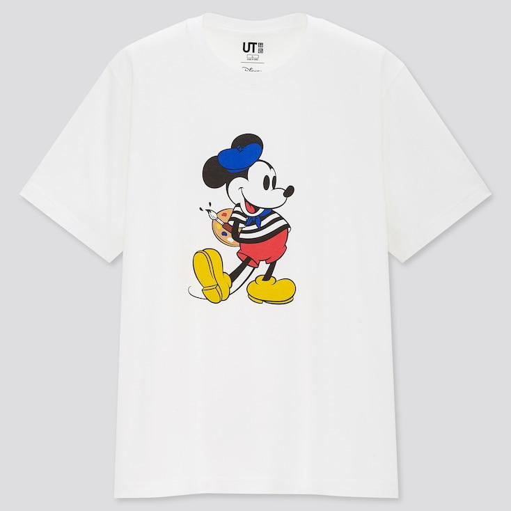 Magic For All Icons World Ut (Short-Sleeve Graphic T-Shirt), White, Large
