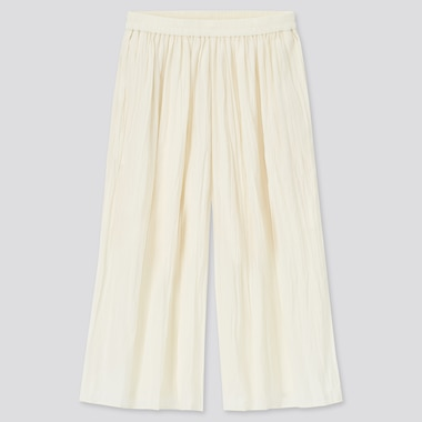 Girls Washer Skirt Pants, Off White, Medium