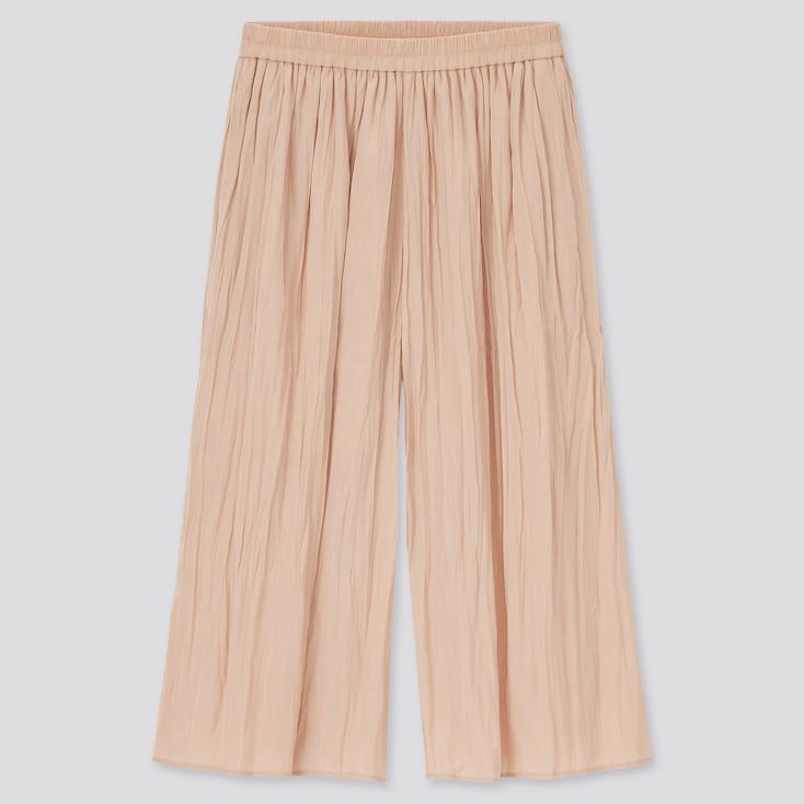 Girls Washer Skirt Pants, Light Orange, Large