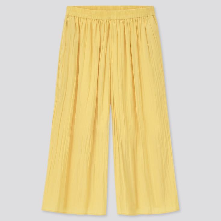 Girls Washer Skirt Pants, Yellow, Large