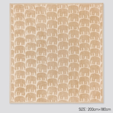 Finlayson Heattech Full-Size Blanket (Online Exclusive), Beige, Medium