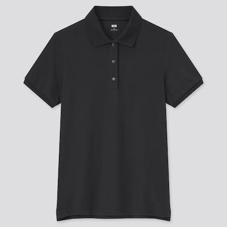 Women Piqué Stretch Polo Shirt