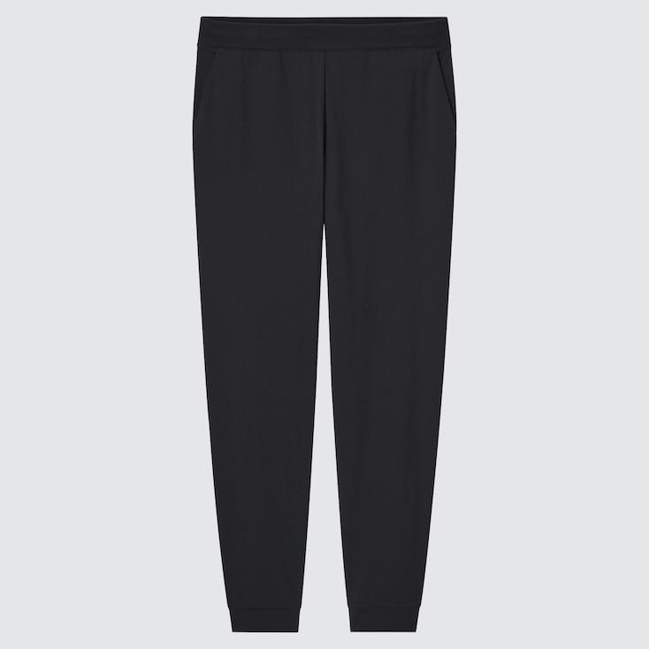 Women Ultra Stretch Active Jogger Pants, Black, Large