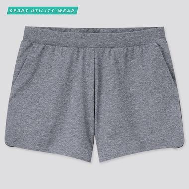 Women Ultra Stretch Active Shorts, Dark Gray, Medium