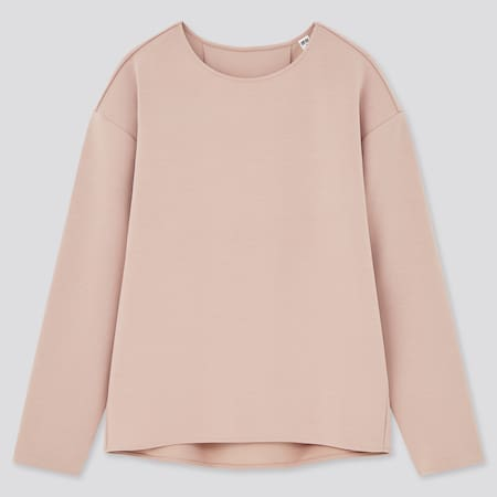 Women Double Faced Stretch Pullover