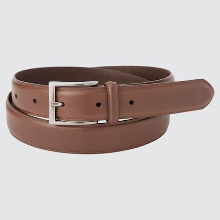 Italian Leather Stitched Belt