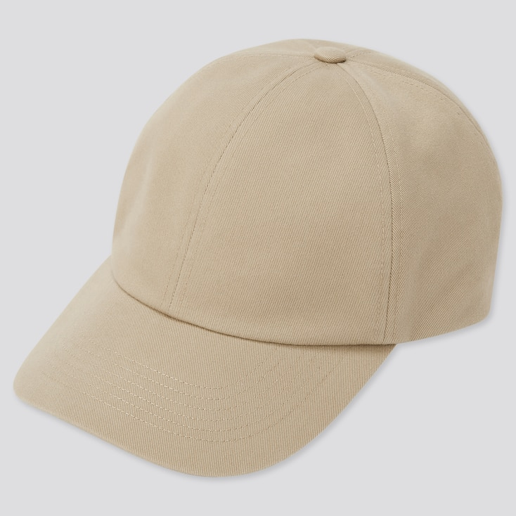 Uv Protection Twill Cap, Beige, Large