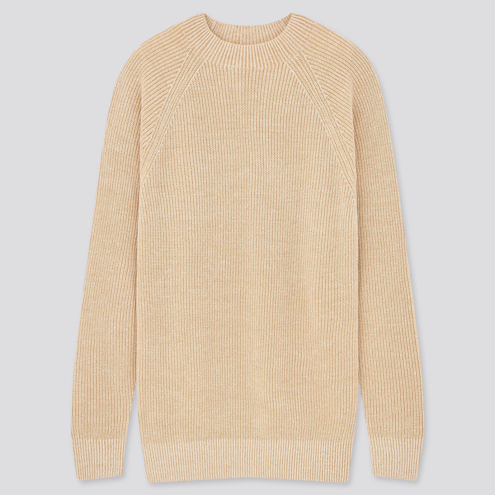 TUNDRA L Mens Sweater fits M to ML Mercerised Cotton Hip Hop Crew Neck Coogi Style Multicolor Earthtones Geometric Coogi Like