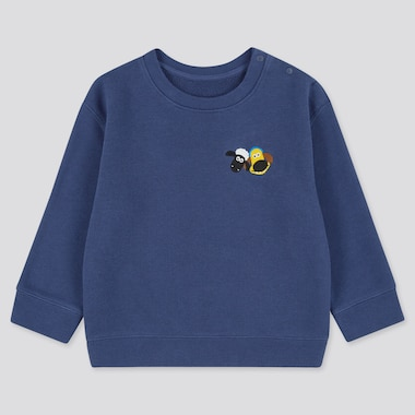 Toddler Shaun The Sheep Sweatshirt, Blue, Medium