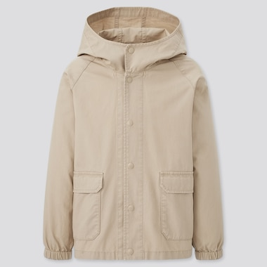 Kids Washed Cotton Parka