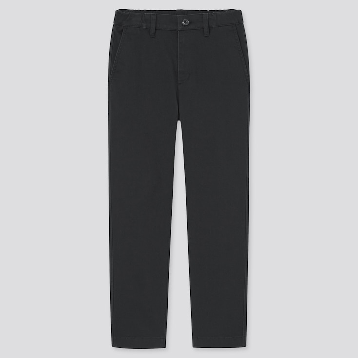Kids Ultra Stretch Regular-Fit Chino Pants (Online Exclusive), Black, Large
