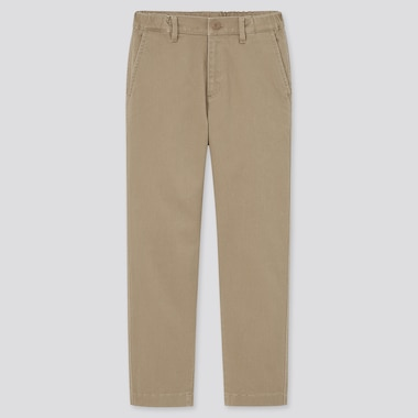 Kids Ultra Stretch Regular-Fit Chino Pants (Online Exclusive), Beige, Medium