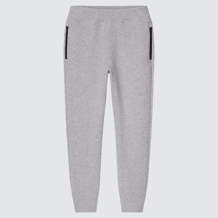 Kids Ultra Stretch Dry Sweatpants, Gray, Large