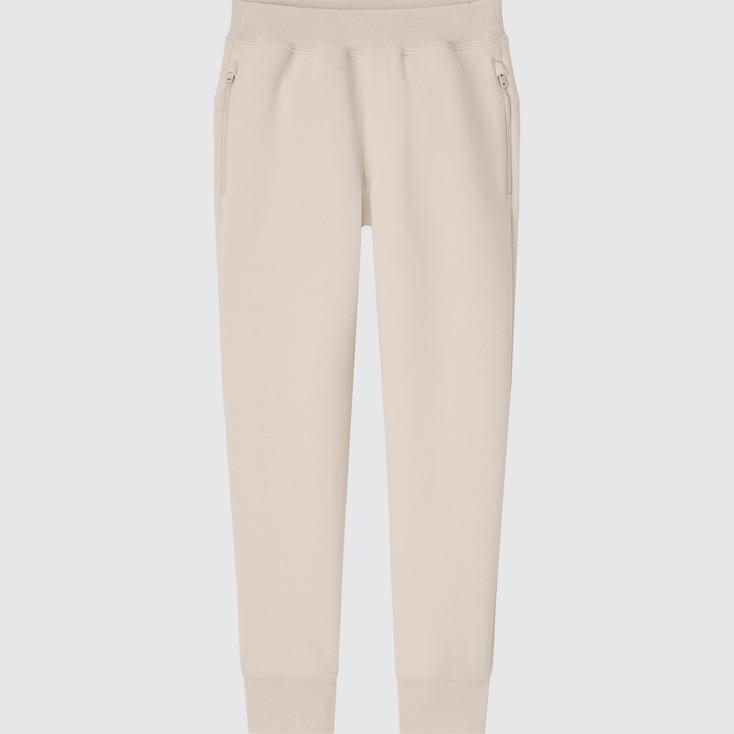 Kids Ultra Stretch Dry Sweatpants, Natural, Large