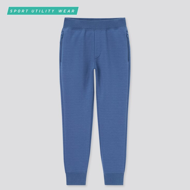 Kids Ultra Stretch Dry Sweatpants, Blue, Large