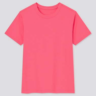 Kids Cotton Colour Crew Neck T-Shirt