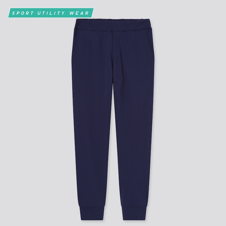 Kids Ultra Stretch Active Jogger Pants, Navy, Large