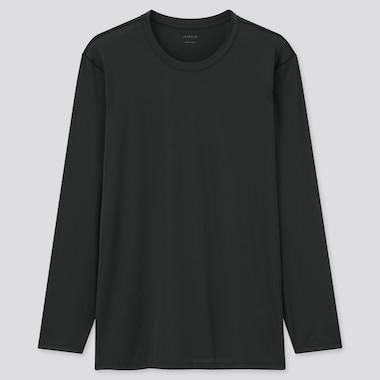 T-Shirt AIRism Girocollo Maniche Lunghe Uomo