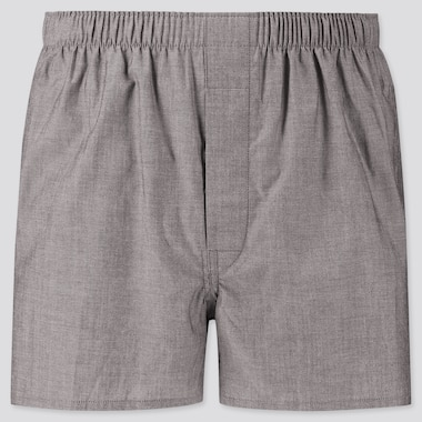 Men Woven Broadcloth Boxer Shorts