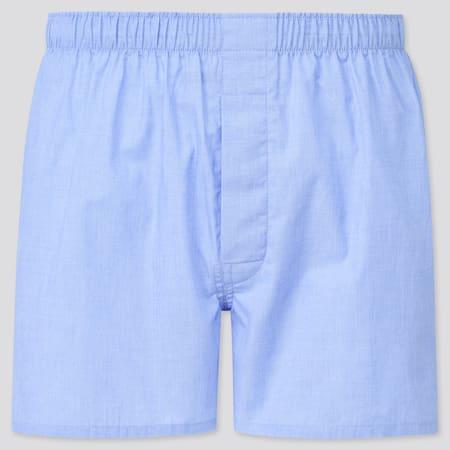 Men Woven Broadcloth Boxer Shorts