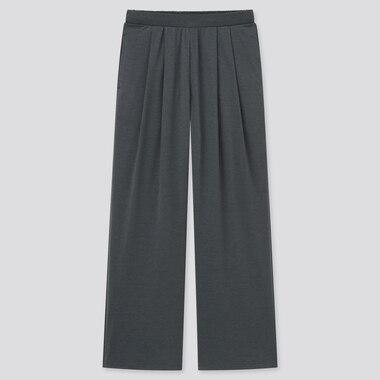 Damen Weite Satin Jerseyhose (Straight Fit)