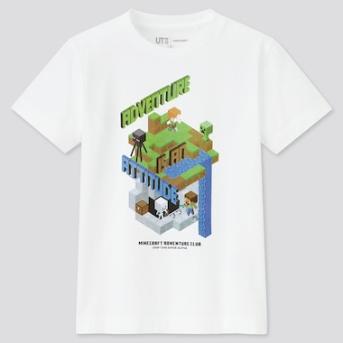 Kids Minecraft UT Graphic T-Shirt