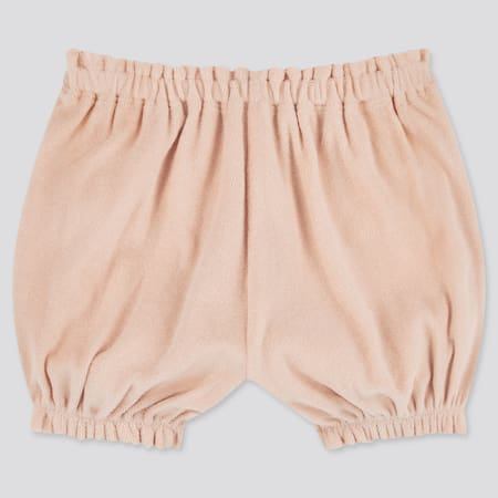 Babies Newborn AIRism Pile Pumpkin Shorts