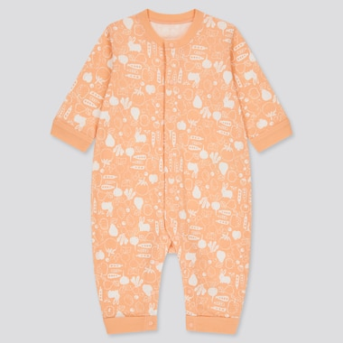 BABIES NEWBORN Joy of Print Long Sleeved One Piece Outfit