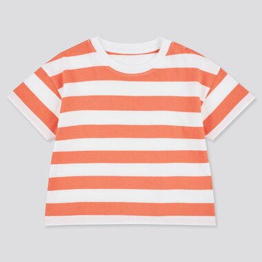 Toddler Crew Neck Short-Sleeve T-Shirt (Online Exclusive), Orange, Medium