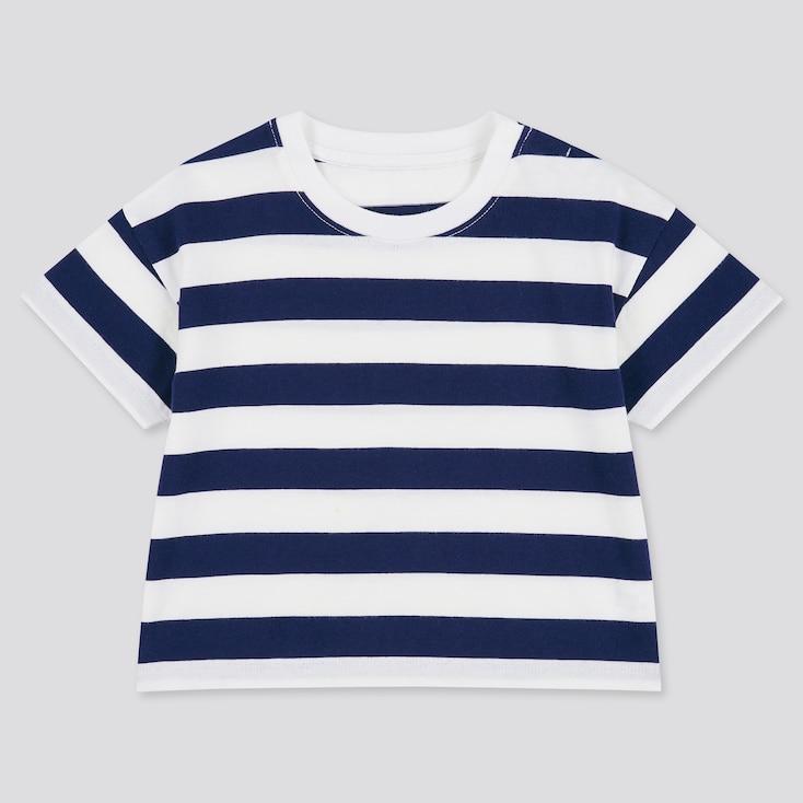 Toddler Crew Neck Short-Sleeve T-Shirt (Online Exclusive), Navy, Large