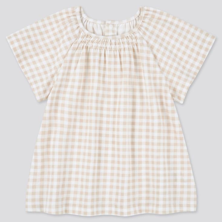 Toddler Crew Neck Short-Sleeve T-Shirt (Online Exclusive), Beige, Large