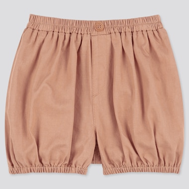Toddler Pumpkin Woven Easy Shorts, Brown, Medium
