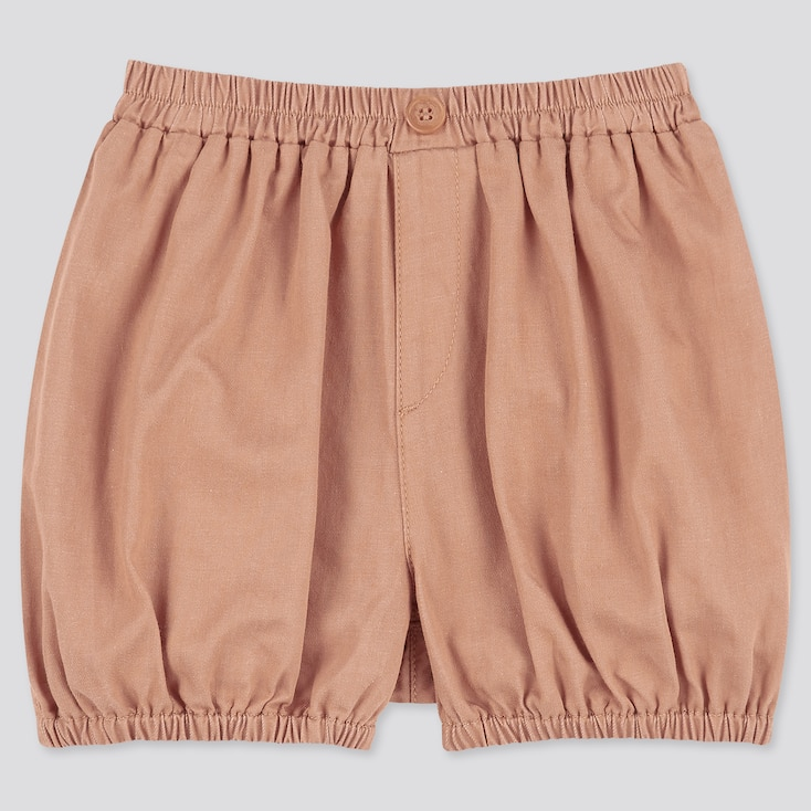 Toddler Pumpkin Woven Easy Shorts, Brown, Large