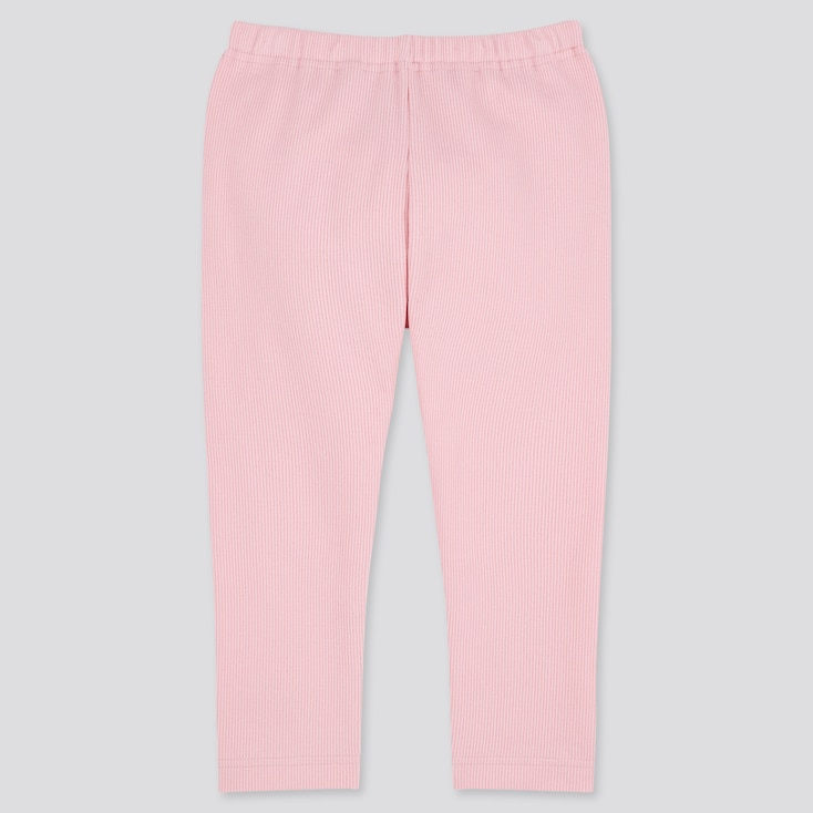 Baby Full-Length Leggings, Pink, Large